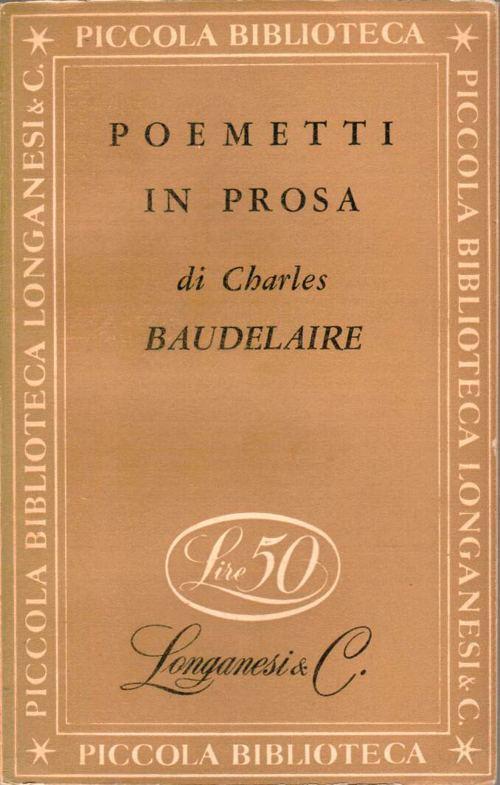 Analisi La Disperazione Della Vecchia Charles Baudelaire