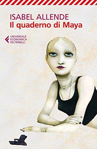 """Copertina """"Il quaderno di Maya"""""""