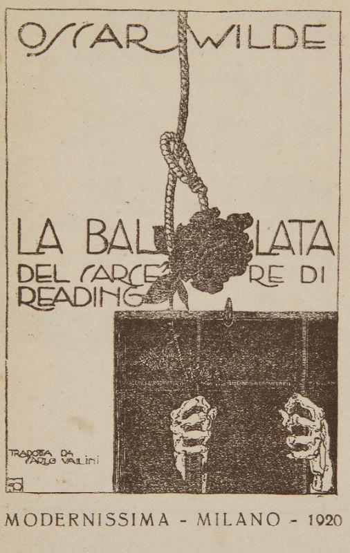 """""""La ballata del carcere di Reading"""" (con lettura) – Oscar Wilde"""