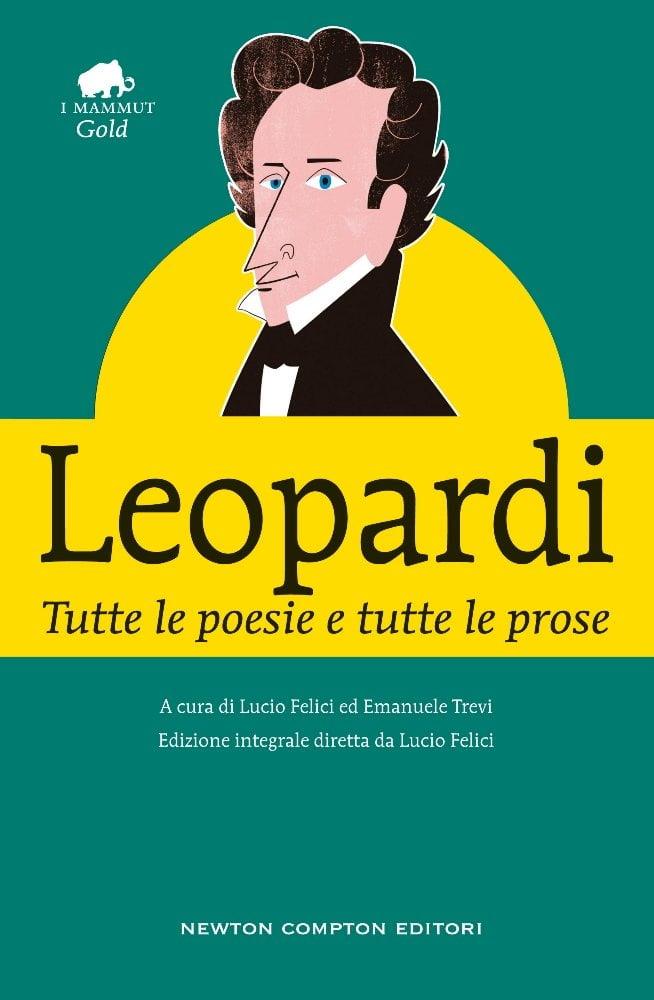 copertina leopardi poesie prose