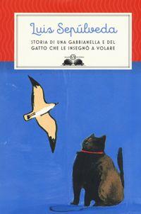 copertina di storia di una gabbianella e del gatto che le insegnò a volare
