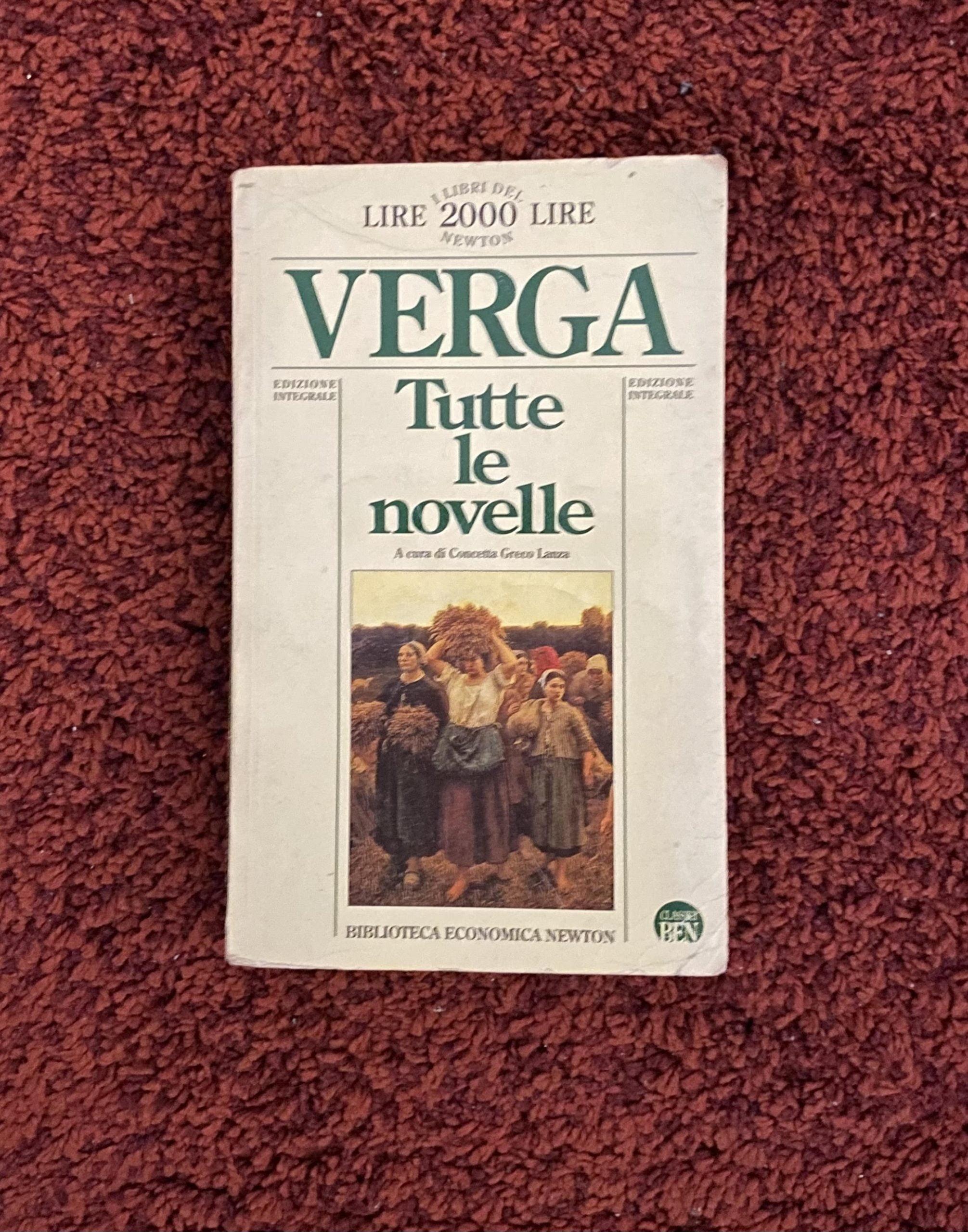 Sei novelle di Giovanni Verga